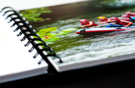 book photo spirale